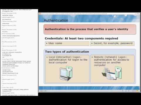 Microsoft 6425C -- Active Directory в Windows Server 2008 [RUS] - Day1