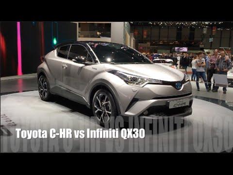 Toyota C Hr 2016 Vs Infiniti Qx30