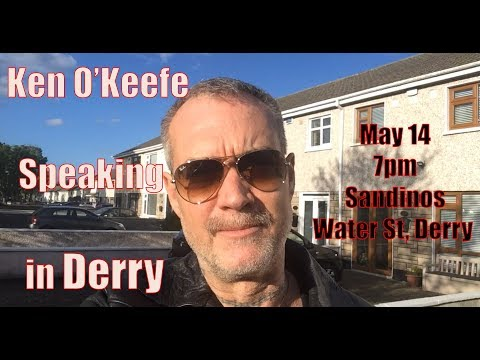 Attempt to Shut Down Ken O'Keefe Derry Talk May 14 - FAIL!