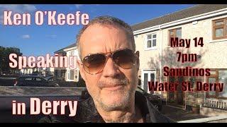 Скачать Attempt To Shut Down Ken O Keefe Derry Talk May 14 FAIL