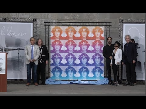 John Lennon Commemorative Forever Stamp First Day of Issue Ceremony