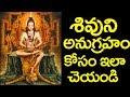 శివుని అనుగ్రహం కోసం ఇలా చేస్తే చాలు    Lord Shiva Blessings