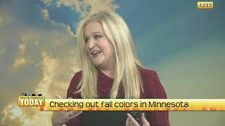 NDT   Checking out fall colors in Minnesota