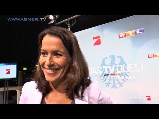 Anne Will - Vor dem TV-Duell 2013