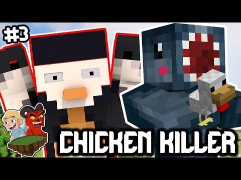 THE CHICKEN KILLER!! - FRIEND OR FOE! #3   MINECRAFT