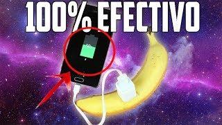 como cargar tu teléfono móvil con un plátano - 100% efectivo método 2018