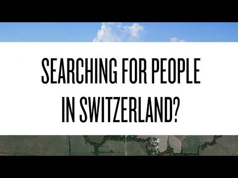 Searching for someone in Switzerland?