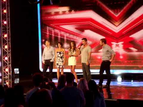 x factor live auditions