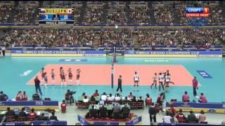 Волейбол  Женщины  Большой Чемпионский Кубок  Россия Япония  12 11 2013