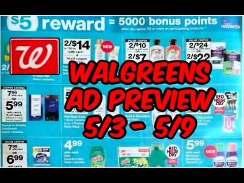 WALGREENS AD PREVIEW (5/3 - 5/9) | EASY FREEBIE DEALS & MORE!