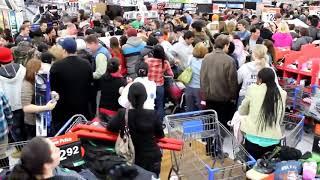 Black Friday 2017 Huge fight in Walmart (Epic)