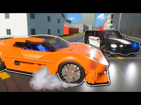 SUPERCAR DEALERSHIP HEIST! - Brick Rigs Multiplayer Gameplay - Lego Cops and Robbers