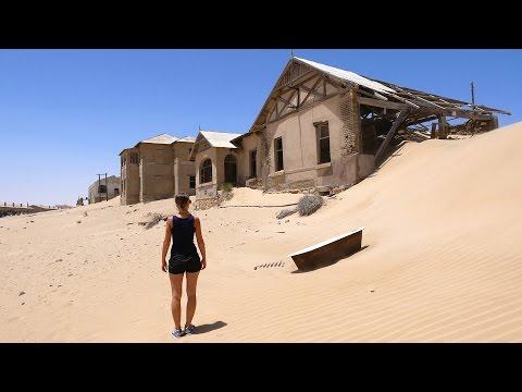 Geisterstadt Kolmanskop - Namibia - Lost Place - Ghost Town | VLOG #173