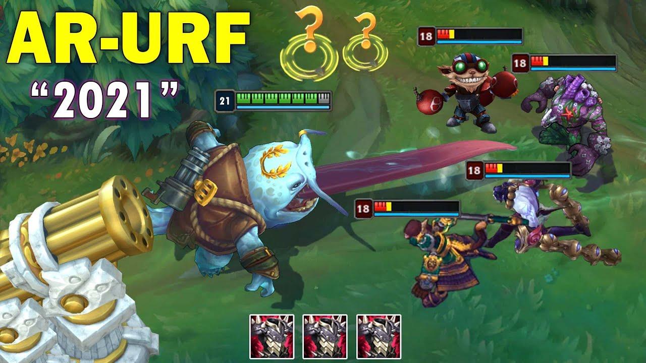 Download ARURF IS BACK 2021 (Tahm Kench, Elise in URF is fun, AR-URF Pentakill...)