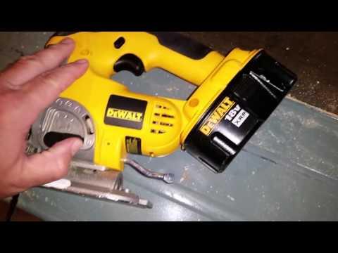 Dewalt 18 volt jigsaw