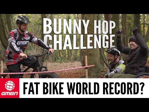Fat Bike Bunny Hop World Record?