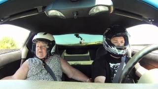 Scaring my Mom at Laguna Seca with a corvette Z06 thumbnail