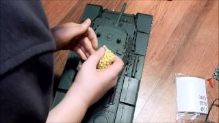 розпакування танк Heng Long KB-1s 1:16 версії pro.