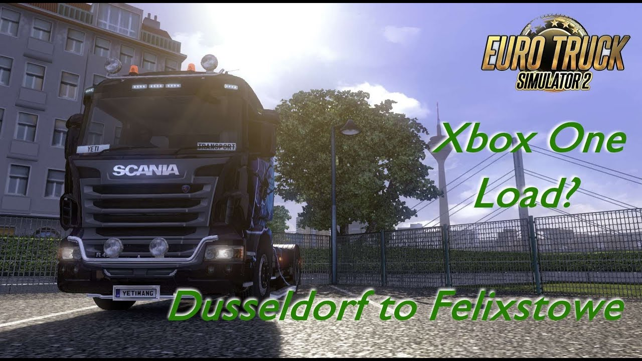 xbox one load dusseldorf to felixstowe euro truck. Black Bedroom Furniture Sets. Home Design Ideas