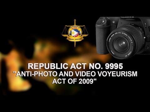 Anti-Photo and Video Voyeurism Act of 2009 (RA 9995)