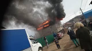 Пожар в Уфе нижегородка