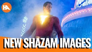 NEW SHAZAM! Images | Zack Snyder on Ben Affleck | Thoughts On Alita Battle Angel