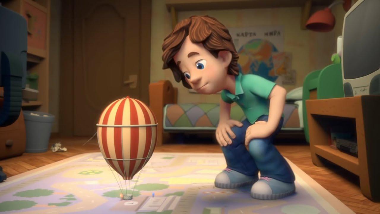 Новые МультФильмы - Фиксики - Воздушный шар