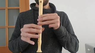 Luis Fonsi - Échame la culpa - Flauta dulce cover tutorial 6°P