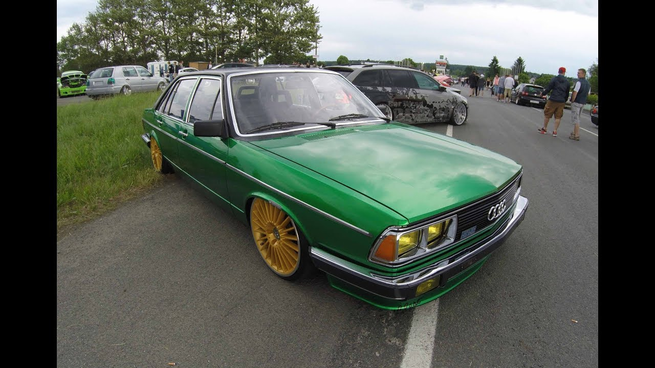 audi 100 c2 5s old school lowered tuning show car. Black Bedroom Furniture Sets. Home Design Ideas