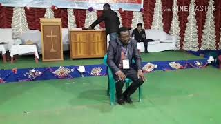 ( 3 ) Rev. Christopher Hembrome on Healing Crusade Basar