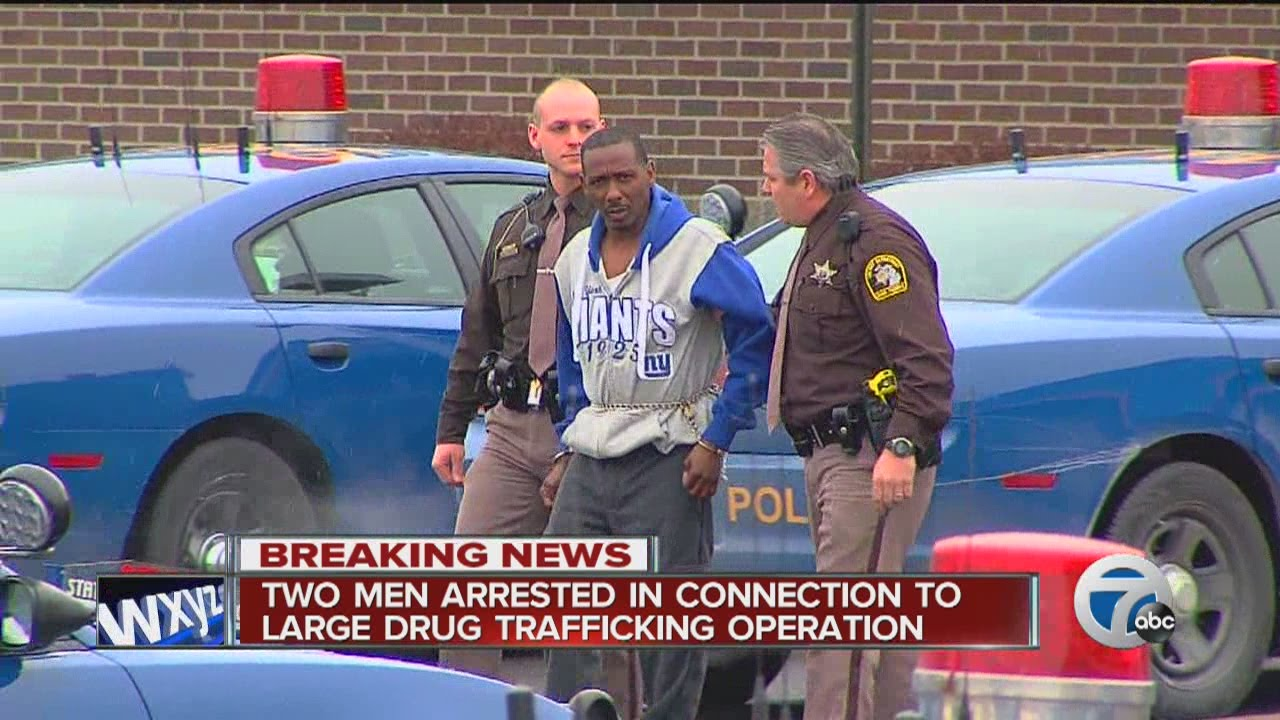 Men connected to large drug trafficking operation in northern Michigan  arrested in Detroit