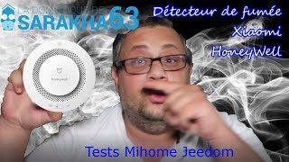 DETECTEUR DE FUMEES XIAOMI HONEYWELL- Domotique Aqara Mijia Mihome Jeedom Tests