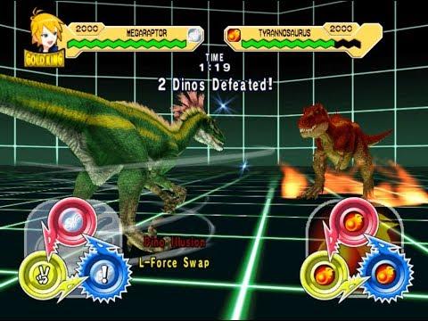 Dinosaur King Arcade Game 恐竜キング - Megaraptor VS Secret ...