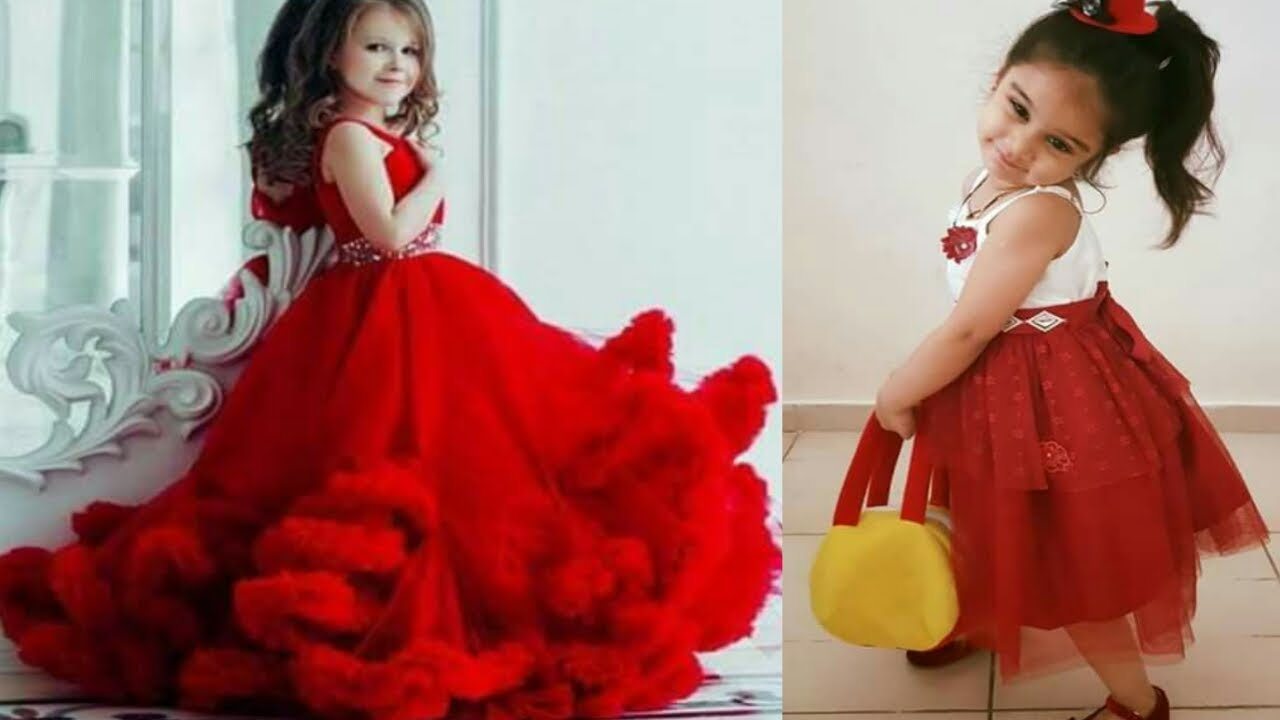 Top 10 Red Baby Frock Design  1d18a0686e