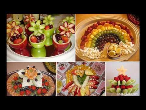 Gaye holud fruit decoration