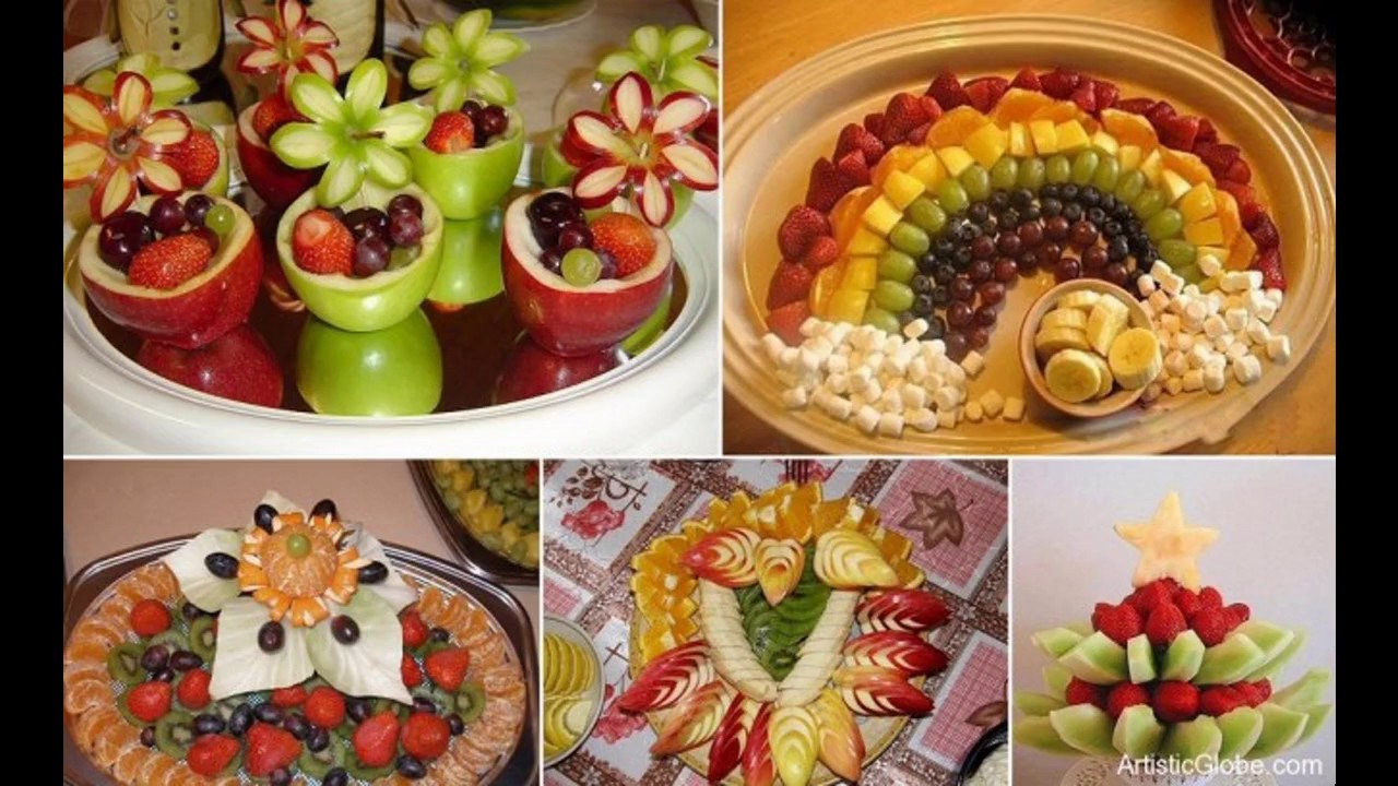 Simple Food Decoration Ideas