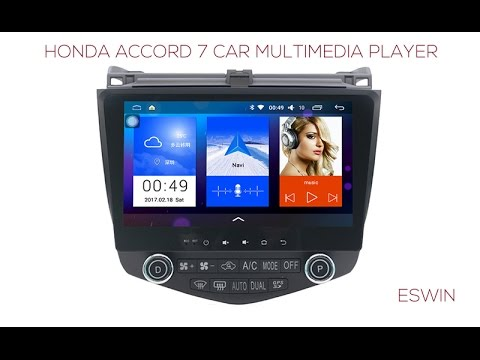 Update , Honda Accord 7 Car Multimedia Player with New UI Stable System