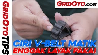 Kenali Ciri V-Belt Motor Matik Rusak | GridOto Tips