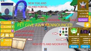 ⚡Saber Simulator • ✨ NEW V2 001 • 🏆 NEW Island 60 • 🥚 New Egg Pets • ✨New Class Shadow Titan