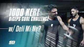 1000 KERE BİCEPS CURL CHALLENGE YAPTIK w/Deli Mi Ne? (KOLLAR PATLADI!)