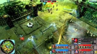 Dawn of War 2: Retribution - 2v2 | Kain + hiveminion [vs] SuperHooper + DJ Raffa