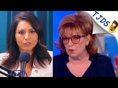 "Tulsi Comments On Rude Reception On ""The View"""