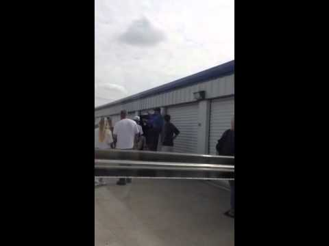 Storage Auctions by Blevins in Dallas Tx. September 2012