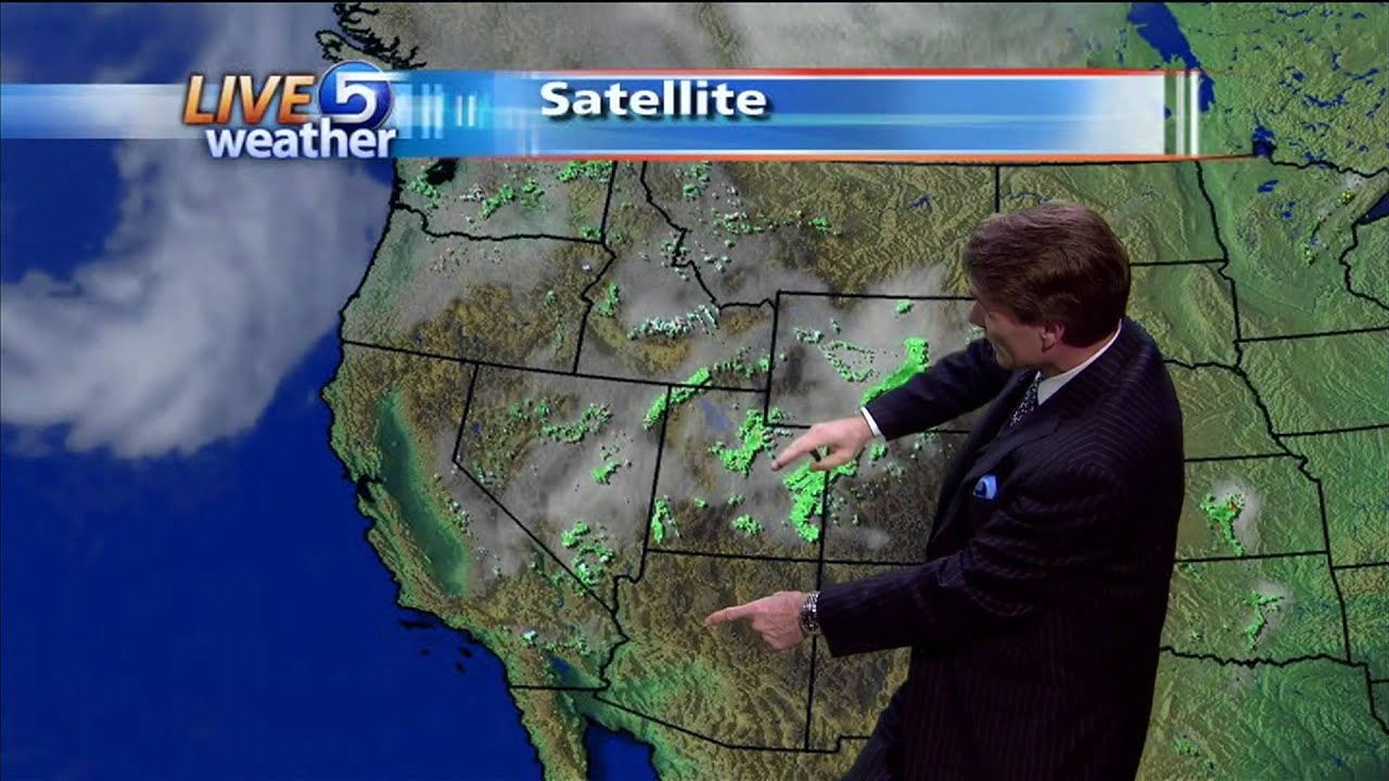 Ksl Weather Map.Dan Pope 5 30 Pm Weather Ksl Tv 5 23 2010 Youtube