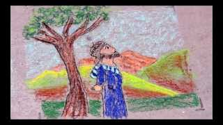 Big God Story through chalk drawing
