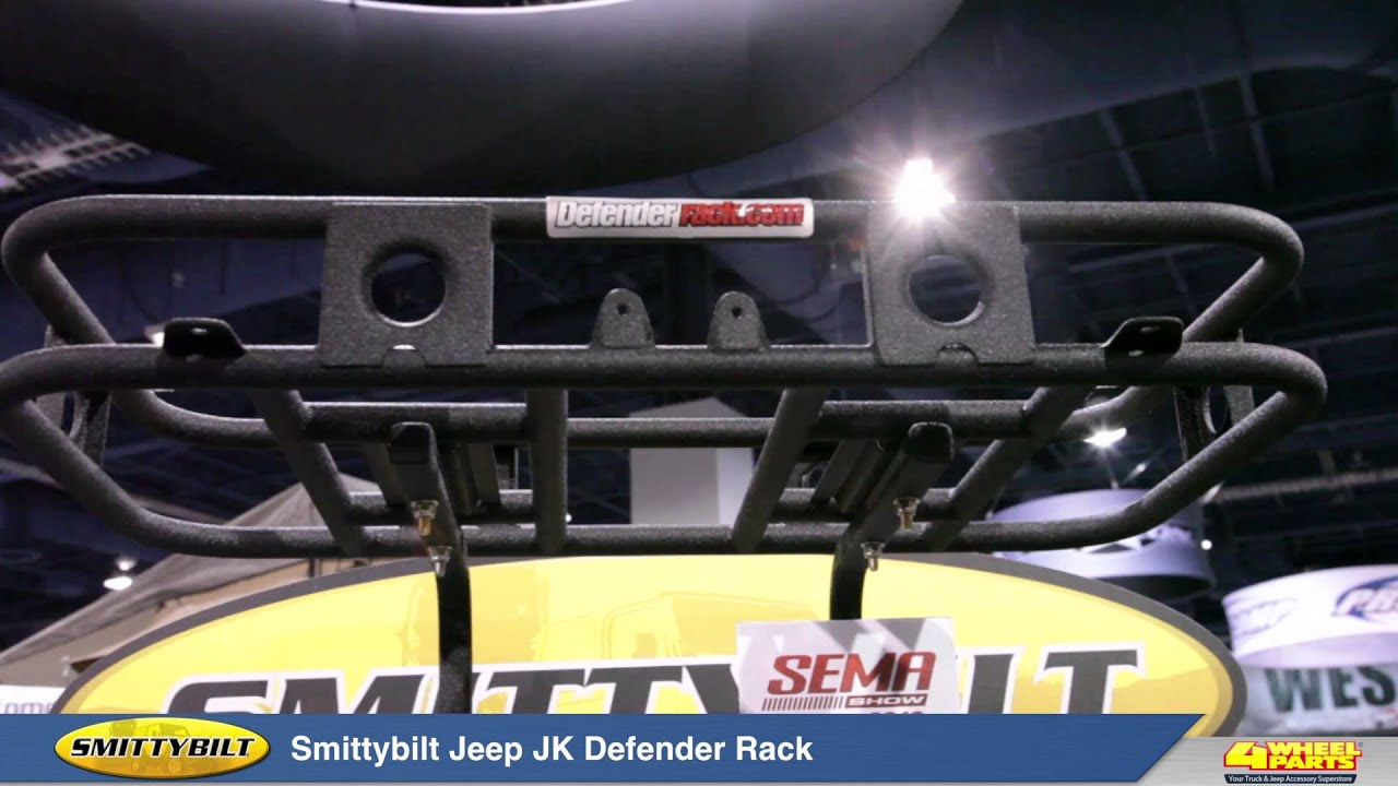 Smittybilt Defender Jeep Jk Rack Youtube