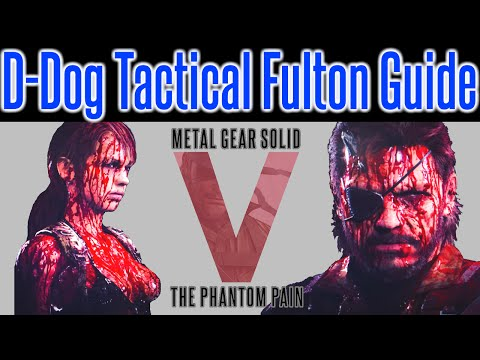 MGSV Phantom Pain - Tactical Fulton Tips   First Aid Manual Guide   D-Dog Fulton How-To