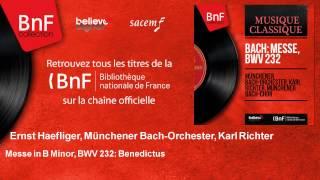 Ernst Haefliger, Münchener Bach-Orchester, Karl Richter - Messe