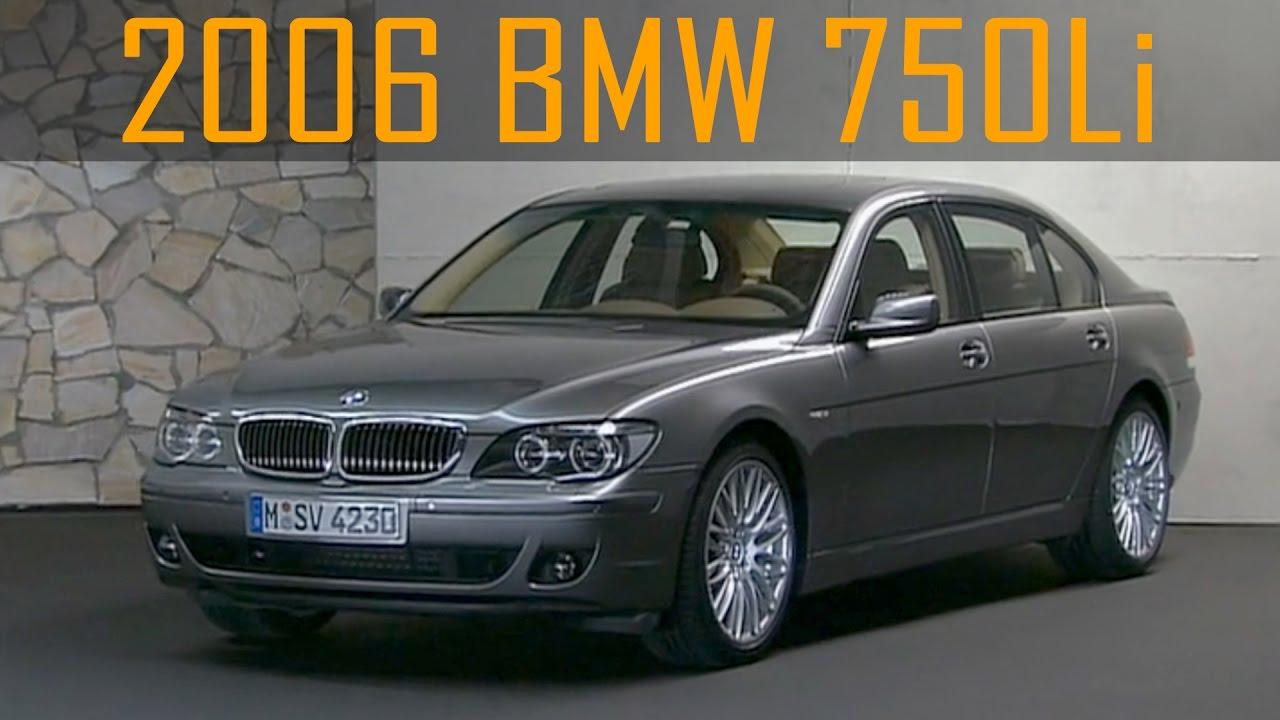 2006 BMW 750Li (E66 7 Series) - YouTube