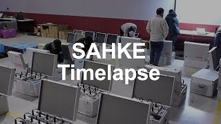 SAHKE Preparation Time Lapse
